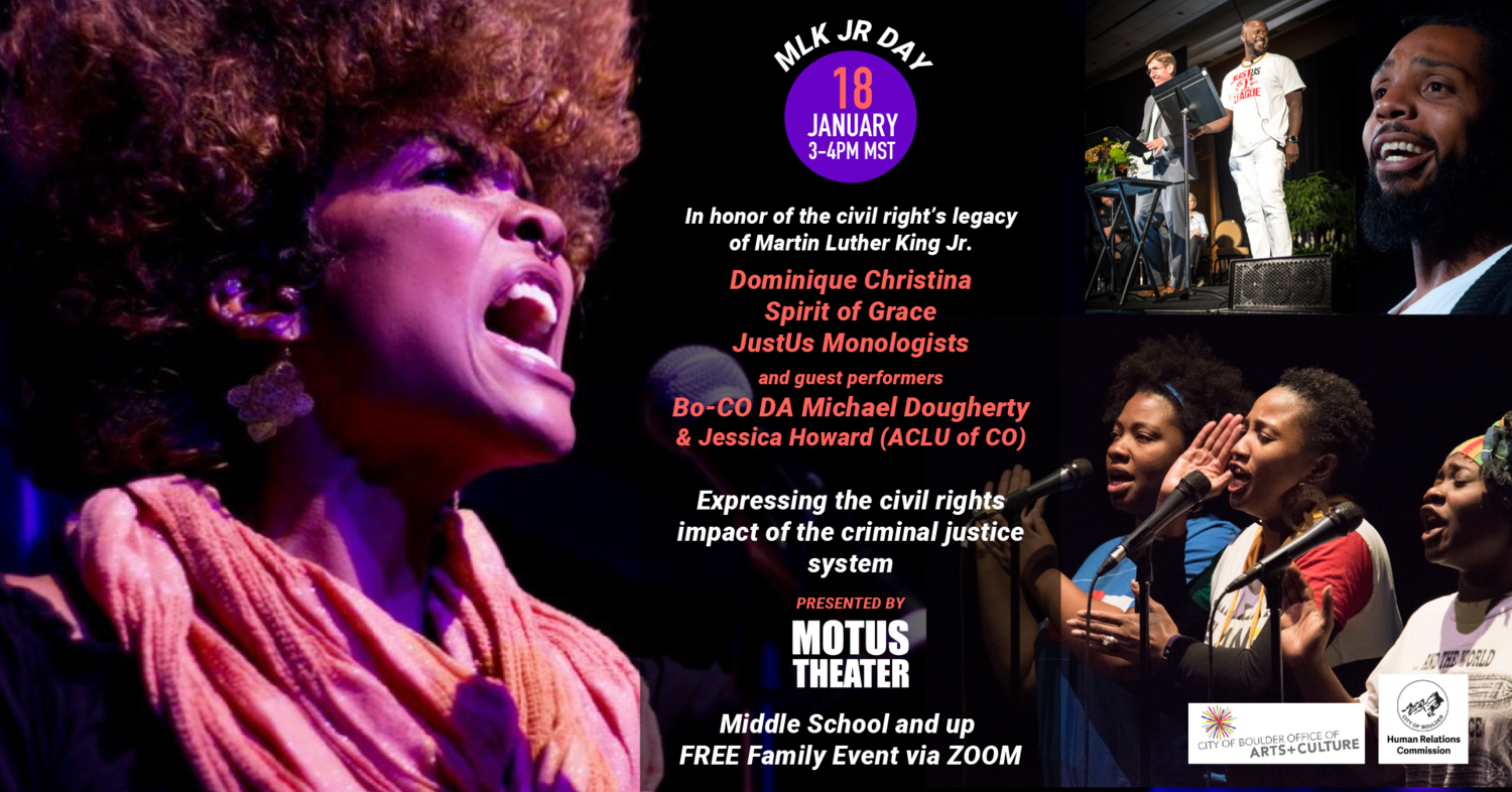External Event: Civil Rights Impact of the Criminal Justice System with Motus Theater