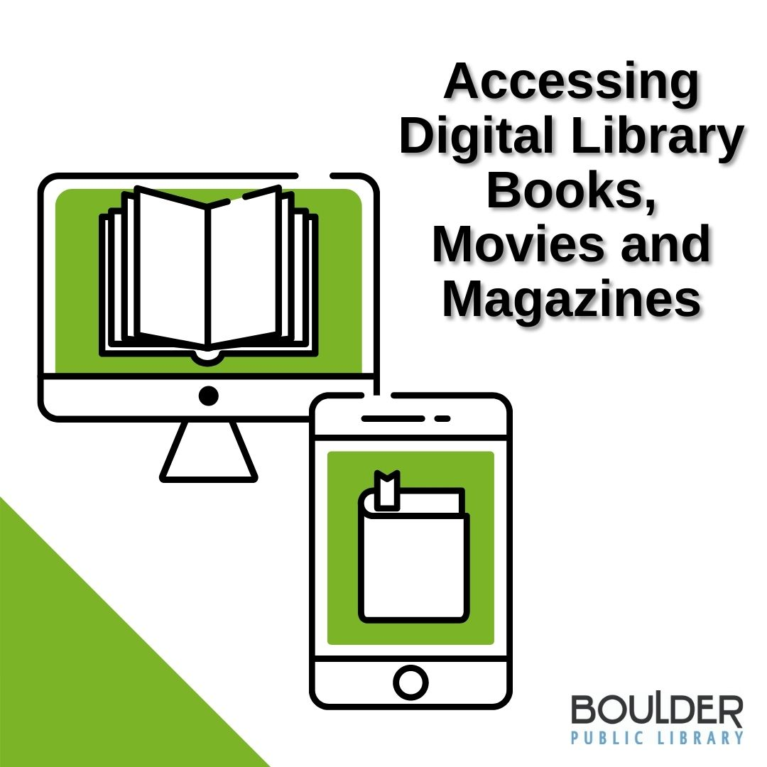 Accessing Digital Library Books, Movies and Magazines