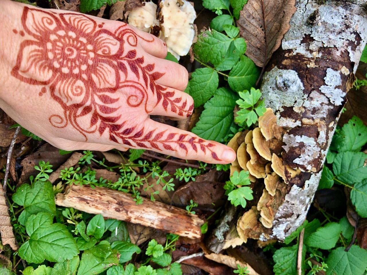 Henna Workshop: Vines, Flowers and Leaves