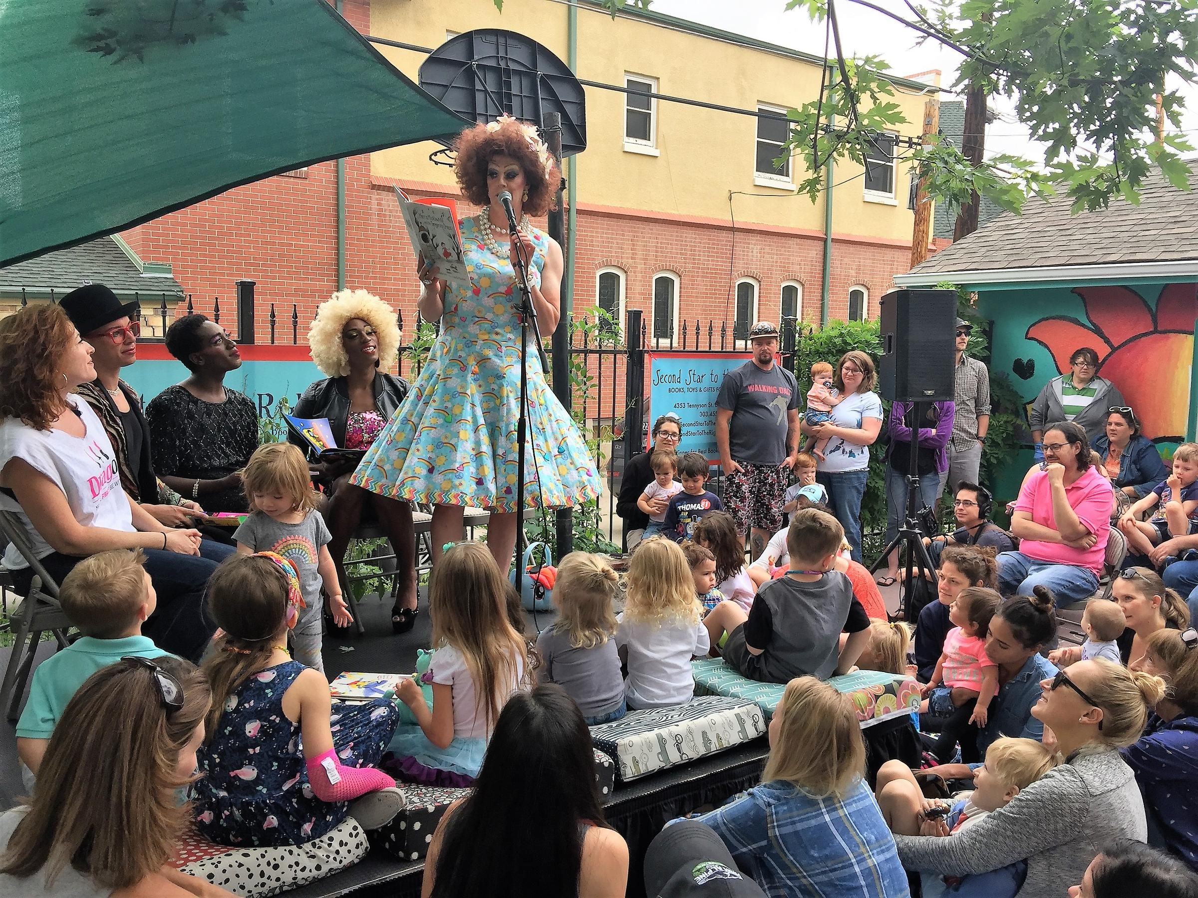 Drag Queen Storytime with Miss Shirley!