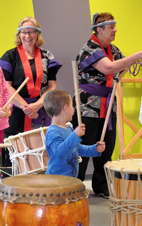 Summer of Discovery: Taiko Drumming