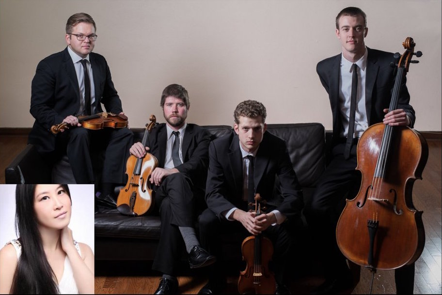 3rd Tuesday Lunchtime Concert Series Presents: Altius Quartet featuring Hsing-ay Hsu, Piano