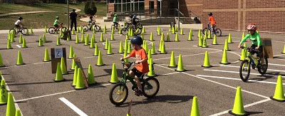 Summer of Discovery: Bicycle Rodeo with Boulder Police Officers