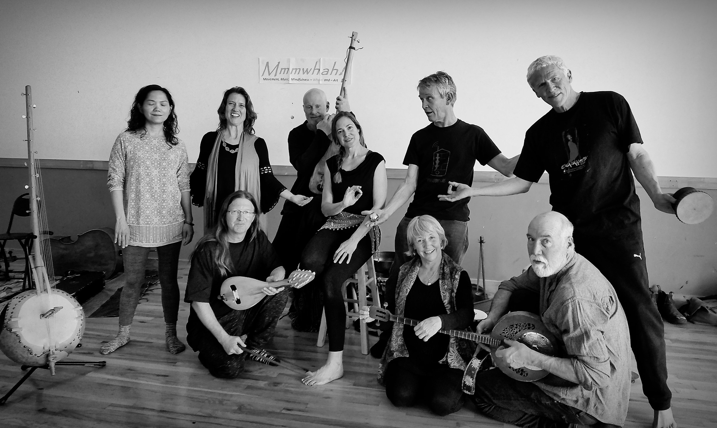 Summer of Discovery: Improvisational Music & Movement Workshop with Members of the Mmmwhah! Ensemble