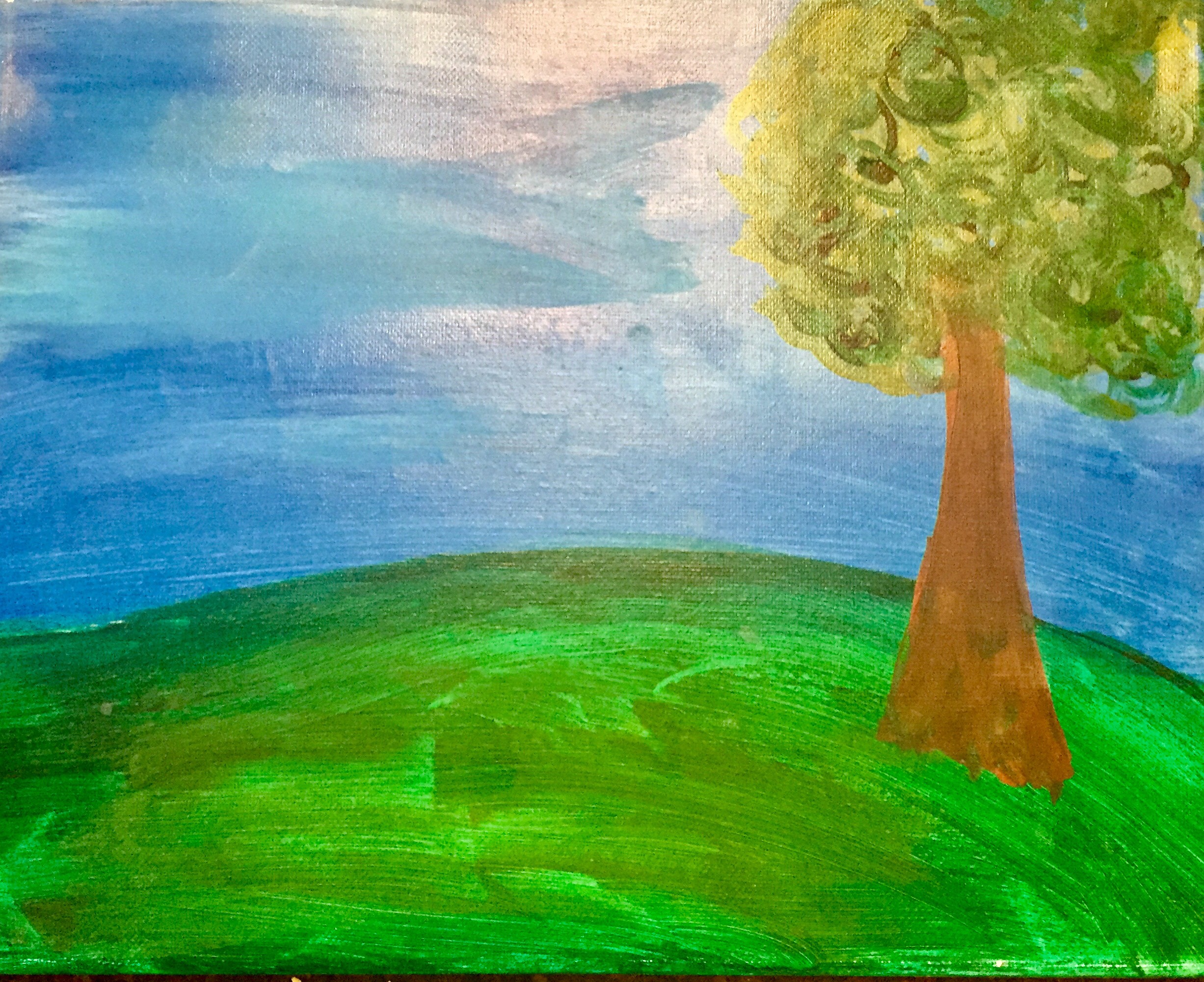 Summer of Discovery: My Art Canvas Painting