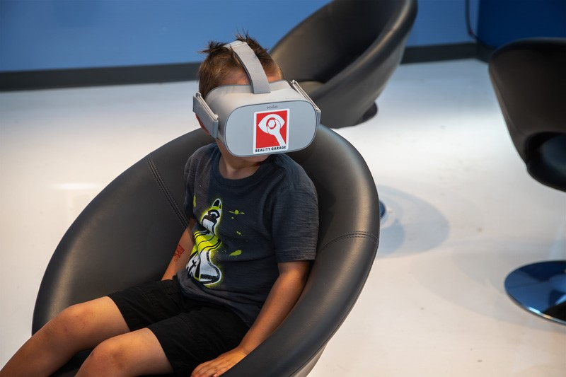 Summer of Discovery: Reality Garage Virtual Reality Demo