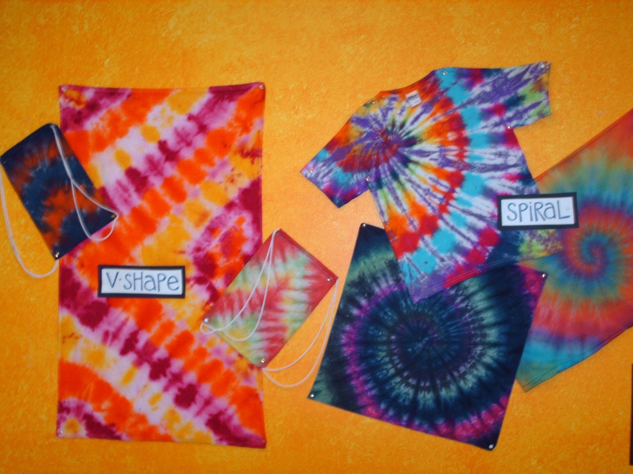 Summer of Discovery: My Art Tie-Dye T-shirts