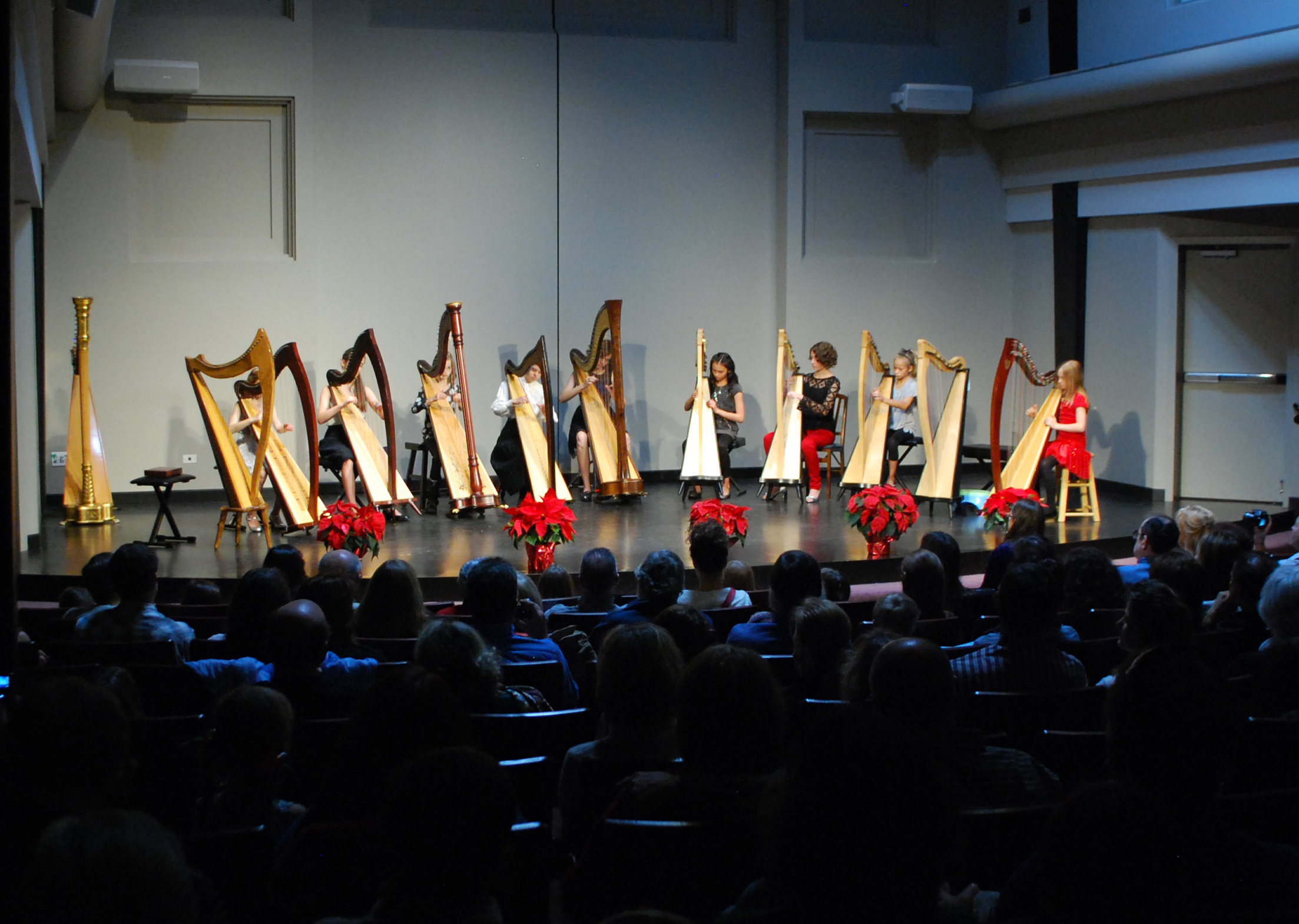 Concert Series Presents: Annual Holiday Harps