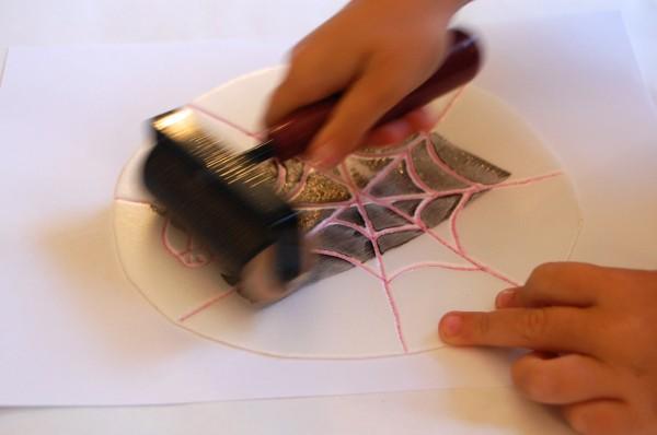 Spooky Printmaking