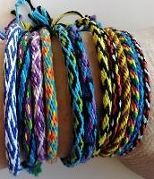 Wheel Braided Bracelets