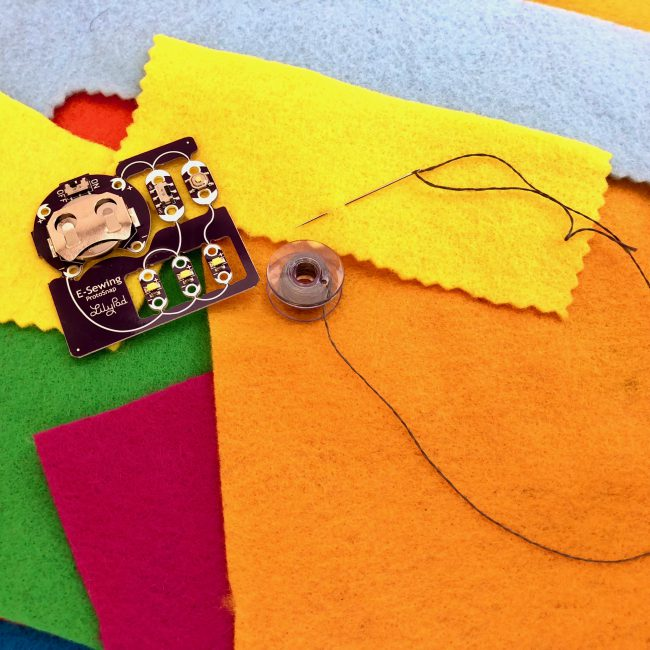 CSED: Sew a Circuit!