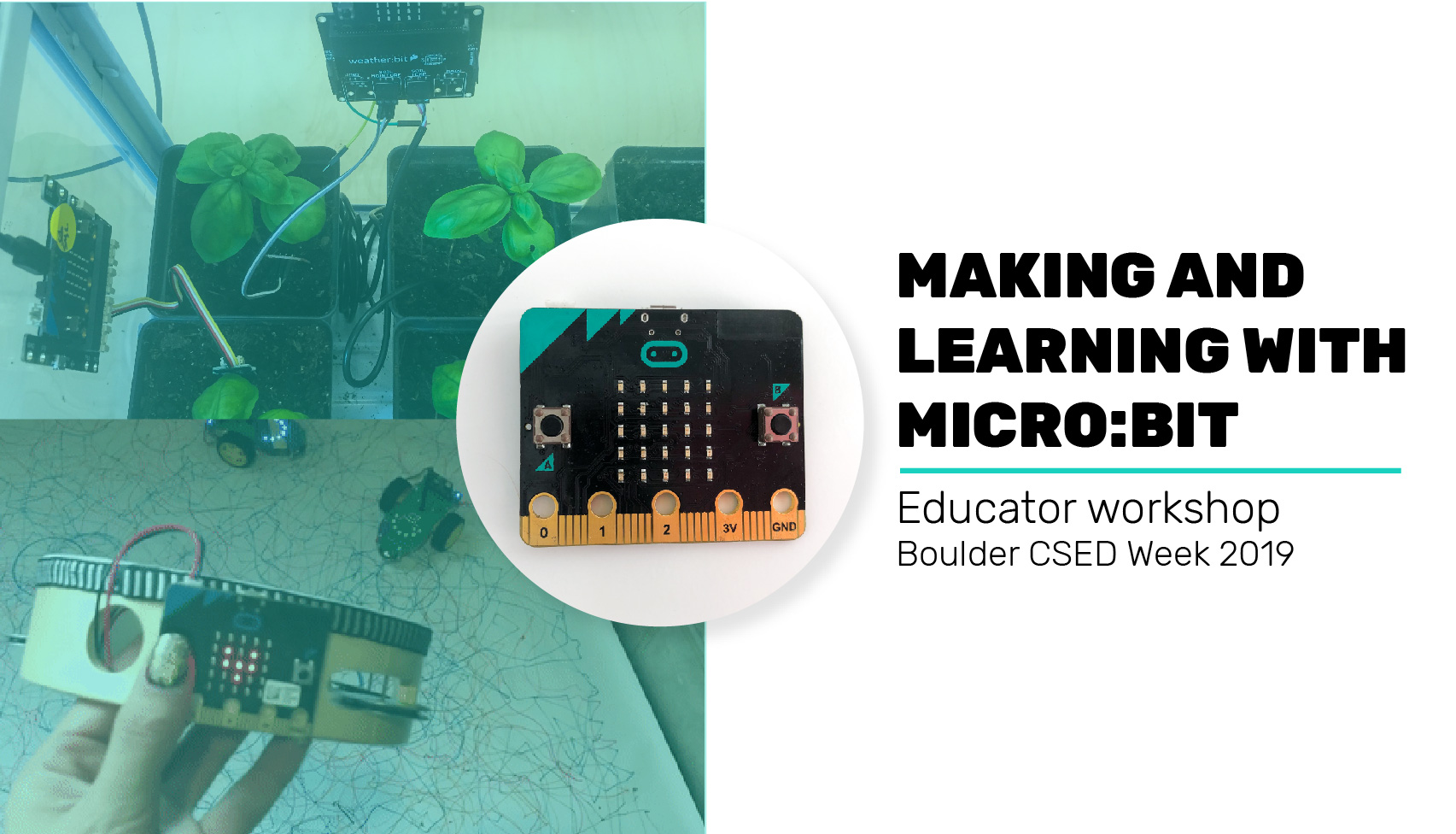CSED: Making and Learning with Micro:bit *Off-Site*