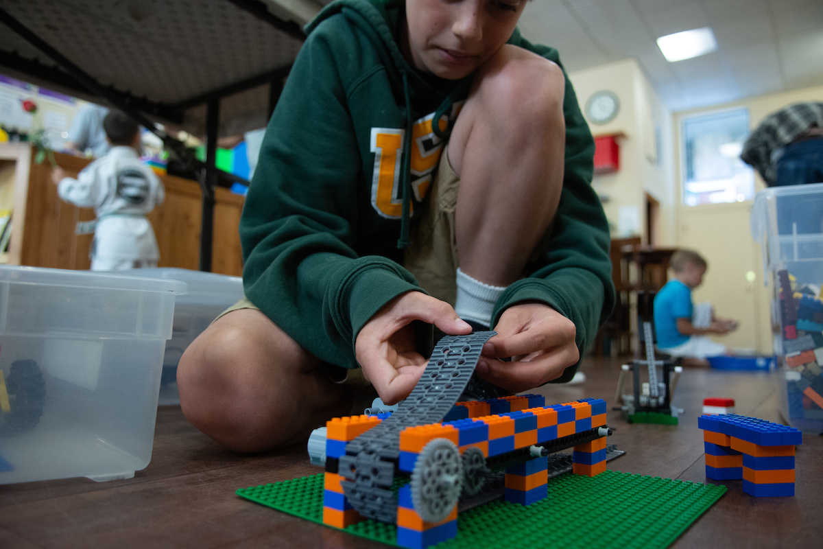 Summer of Discovery: Build a Motorized Conveyor Belt