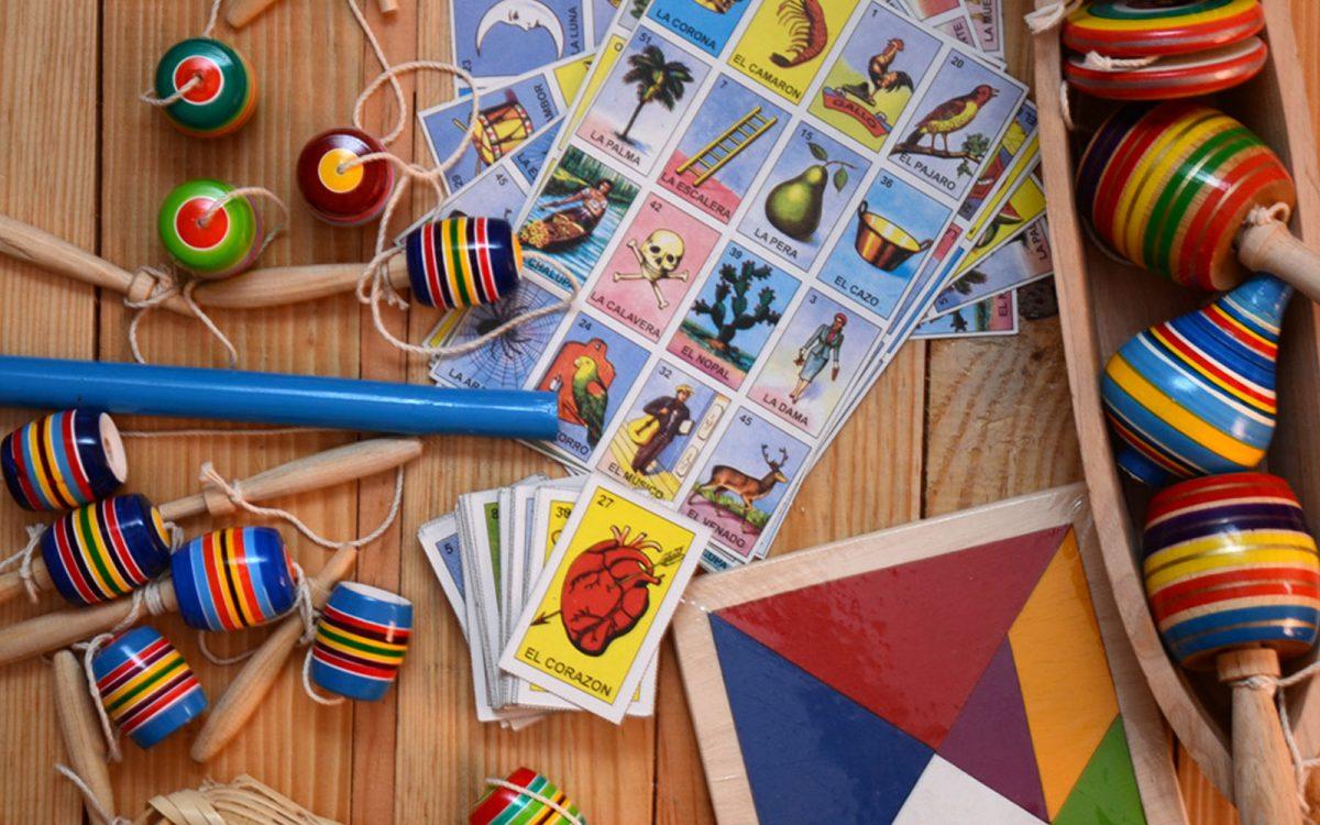 Traditional Toys for Día de las Niñas y los Niños