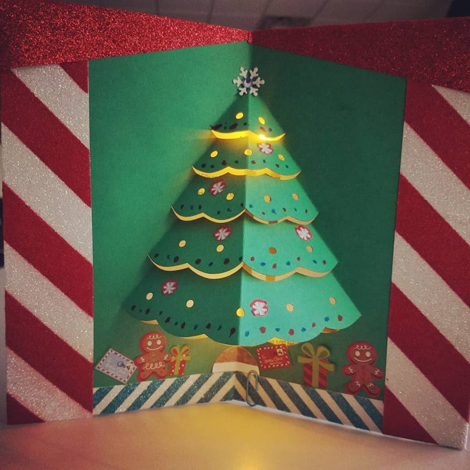Light Up Holiday Cards!