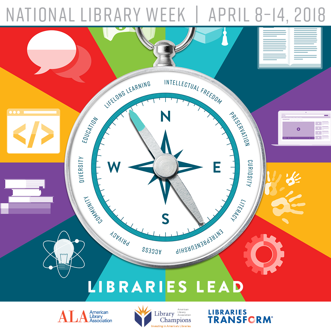 National Library Week Prize Wheel