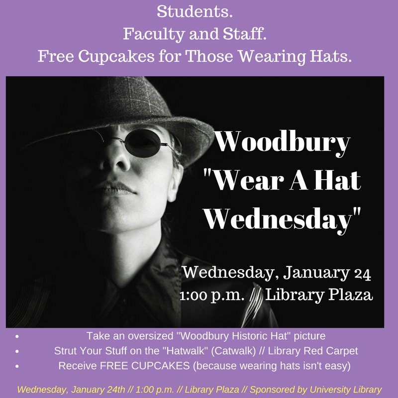 Woodbury Wear a Hat Wednesday