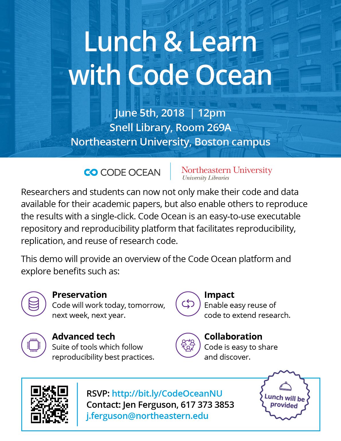 Lunch & Learn with Code Ocean