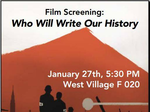 Film Screening: Who Will Write Our History