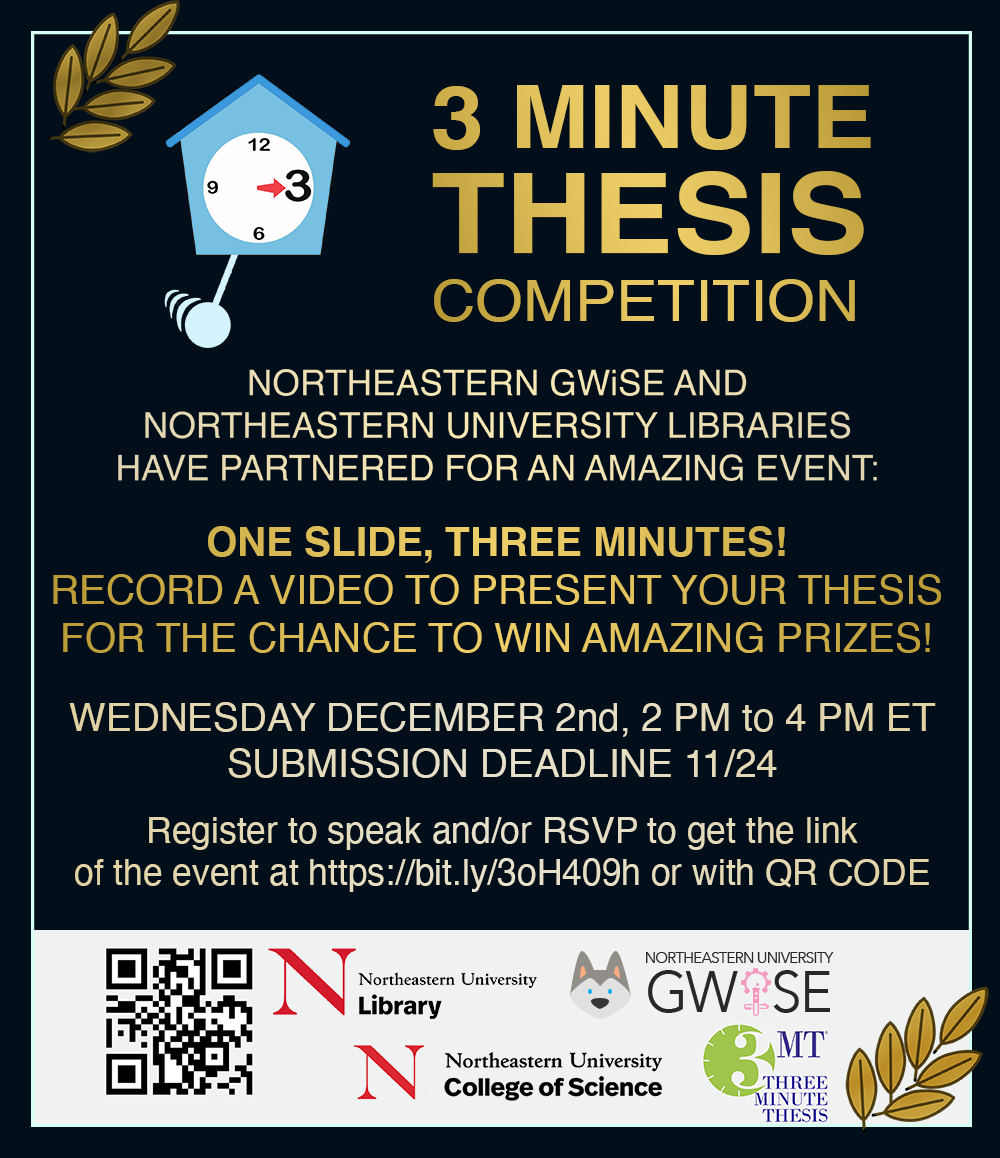 GWISE 3-Minute Thesis Competition