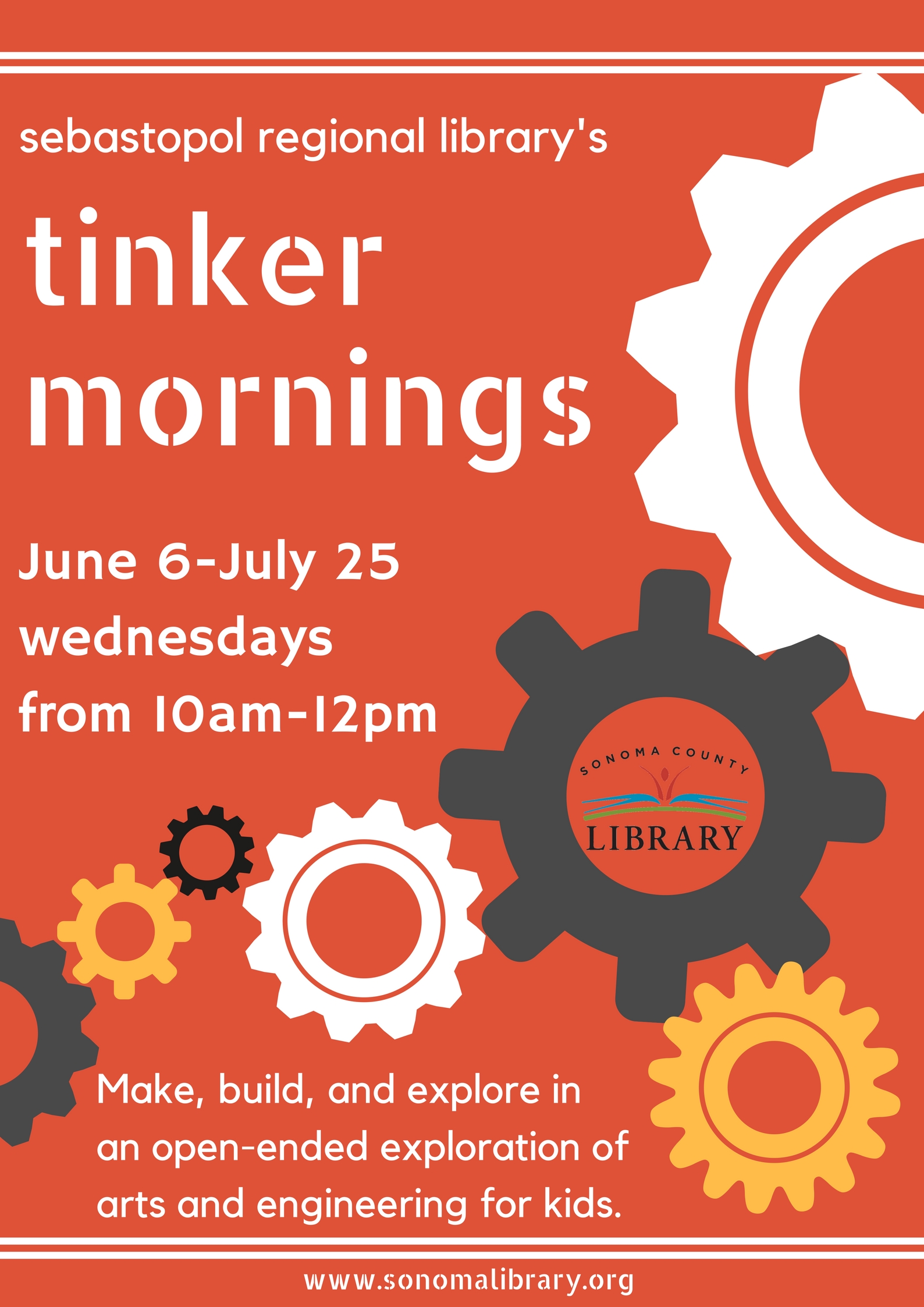 Tinker Mornings (ages 4-15)