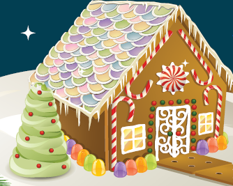 Once Upon a Gingerbread House (0-6 years) at the Rohnert Park-Cotati Library