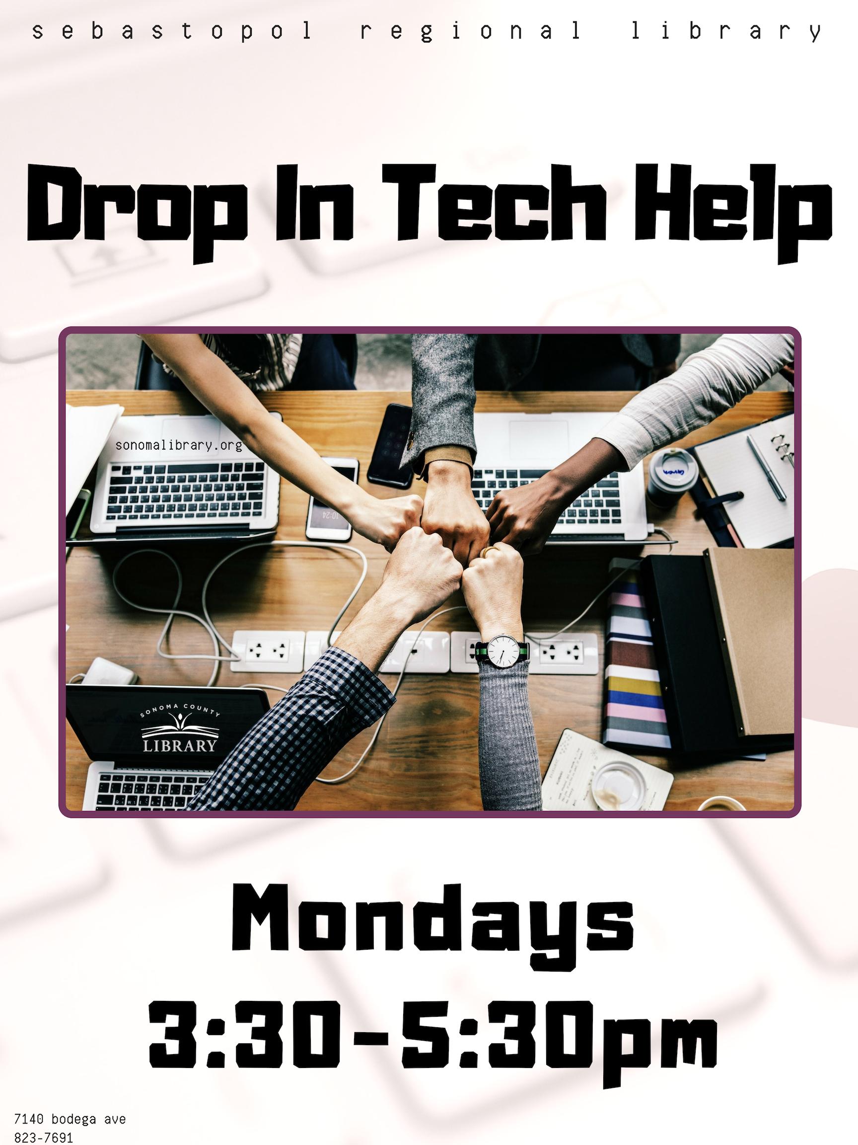 Drop In Tech Help