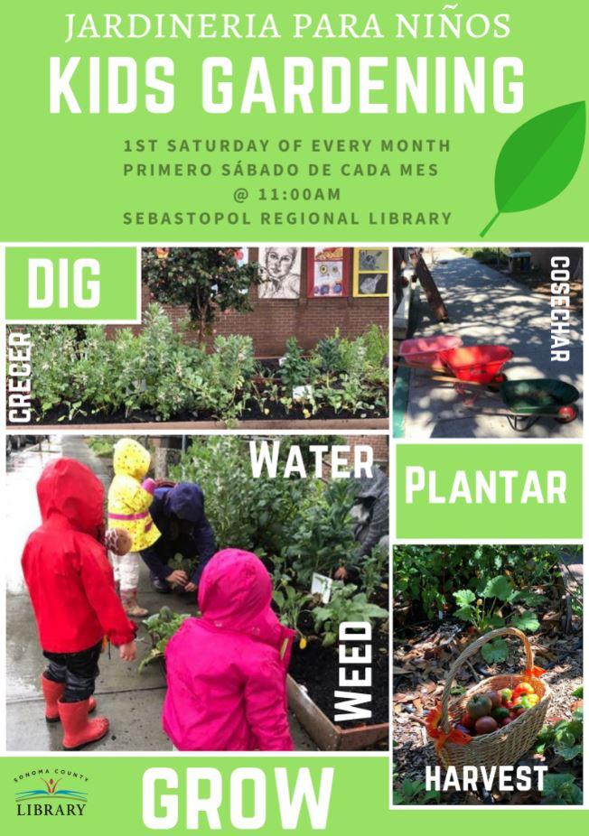 Kids Garden Workshop /Jardinería Para Niños