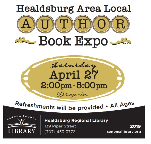 Healdsburg Area Local Author Book Expo