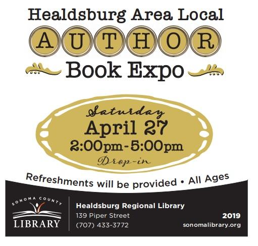 Healdsburg Area Local Author Book Expo