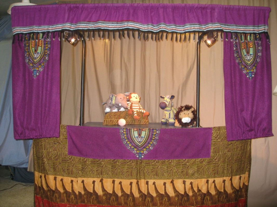 Magical Moonshine Theater:  Little Elephant Has a Ball (ages 2 to 6)