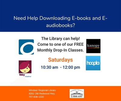 eBook & eAudiobook Drop-In Help