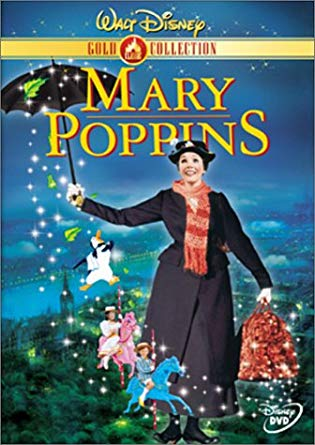 Kid's Movie:  Mary Poppins, Ages 4+
