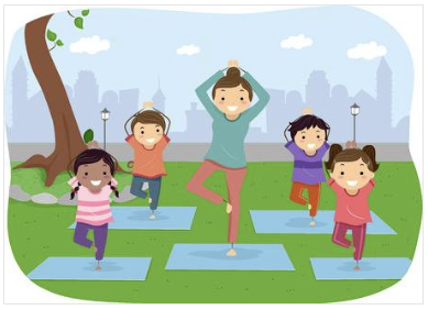Kid's Yoga with Miss Monica, Ages 7-10
