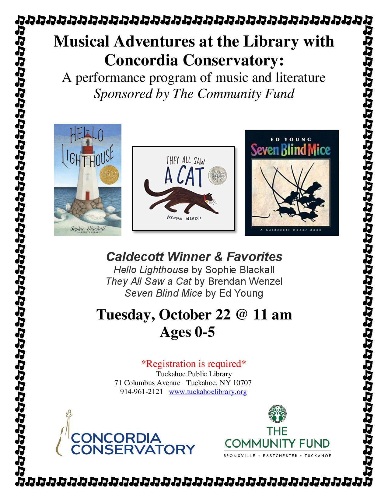 Musical Adventures with Concordia Conservatory