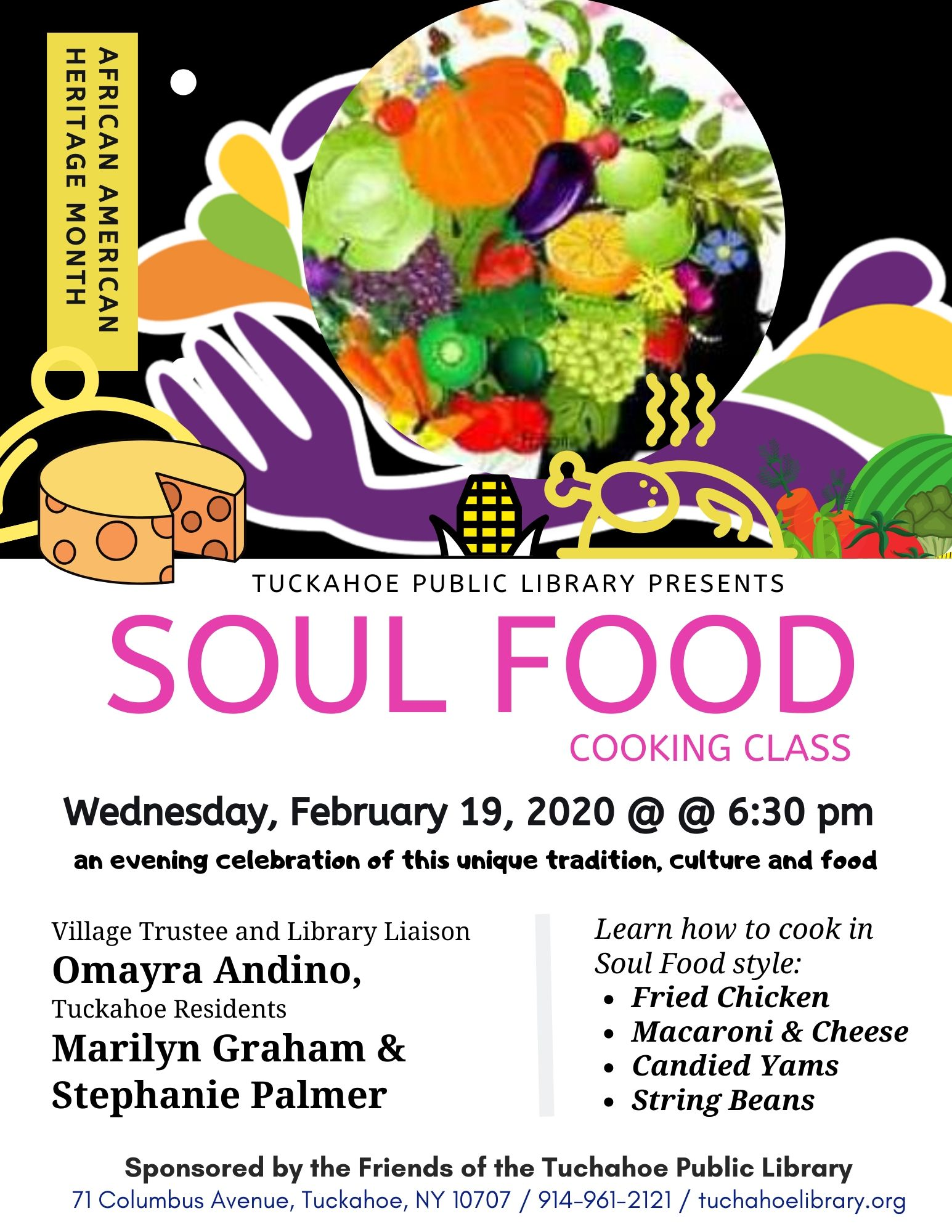 Soul Food Cooking Class by Marilyn Graham and Stephanie Palmer