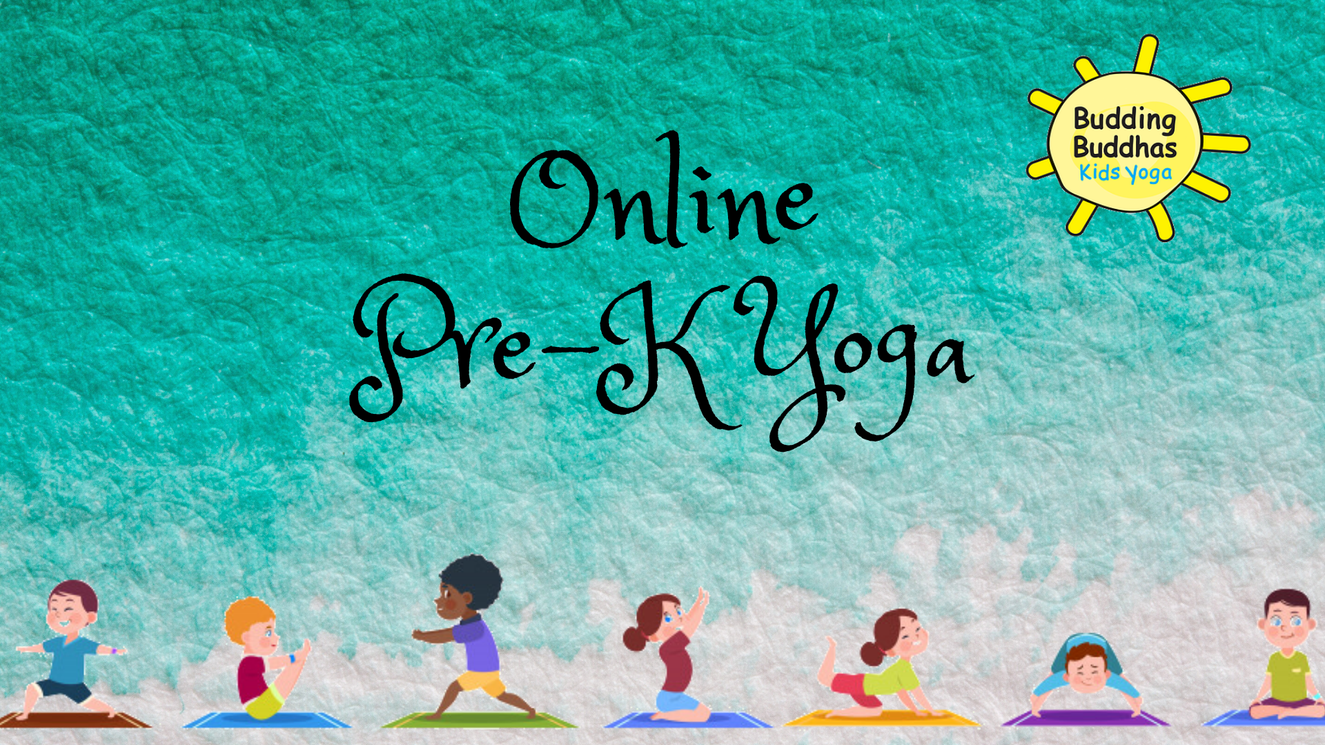 Online Pre-K Yoga - Ages 2.5 - 5 years