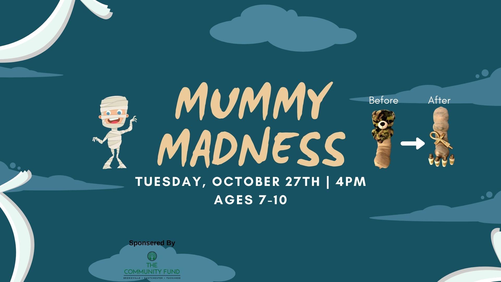 Mummy Madness, Ages 7-10
