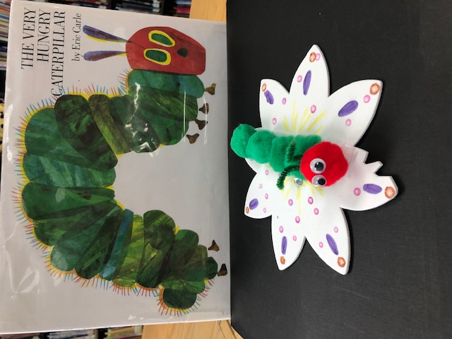Spring Craft - The Very Hungry Caterpillar, Ages 3-10