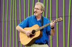 NEW!  Virtual Kid's Concert with Robert the Guitar Guy, Ages 1-6