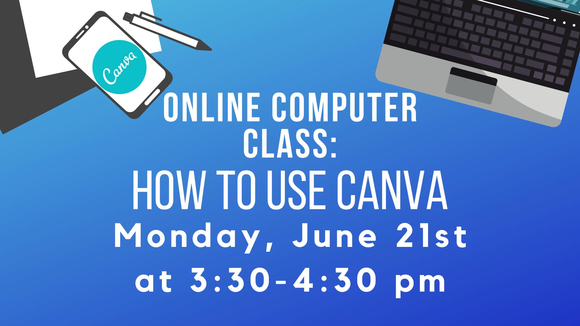 Computer Class - Canva