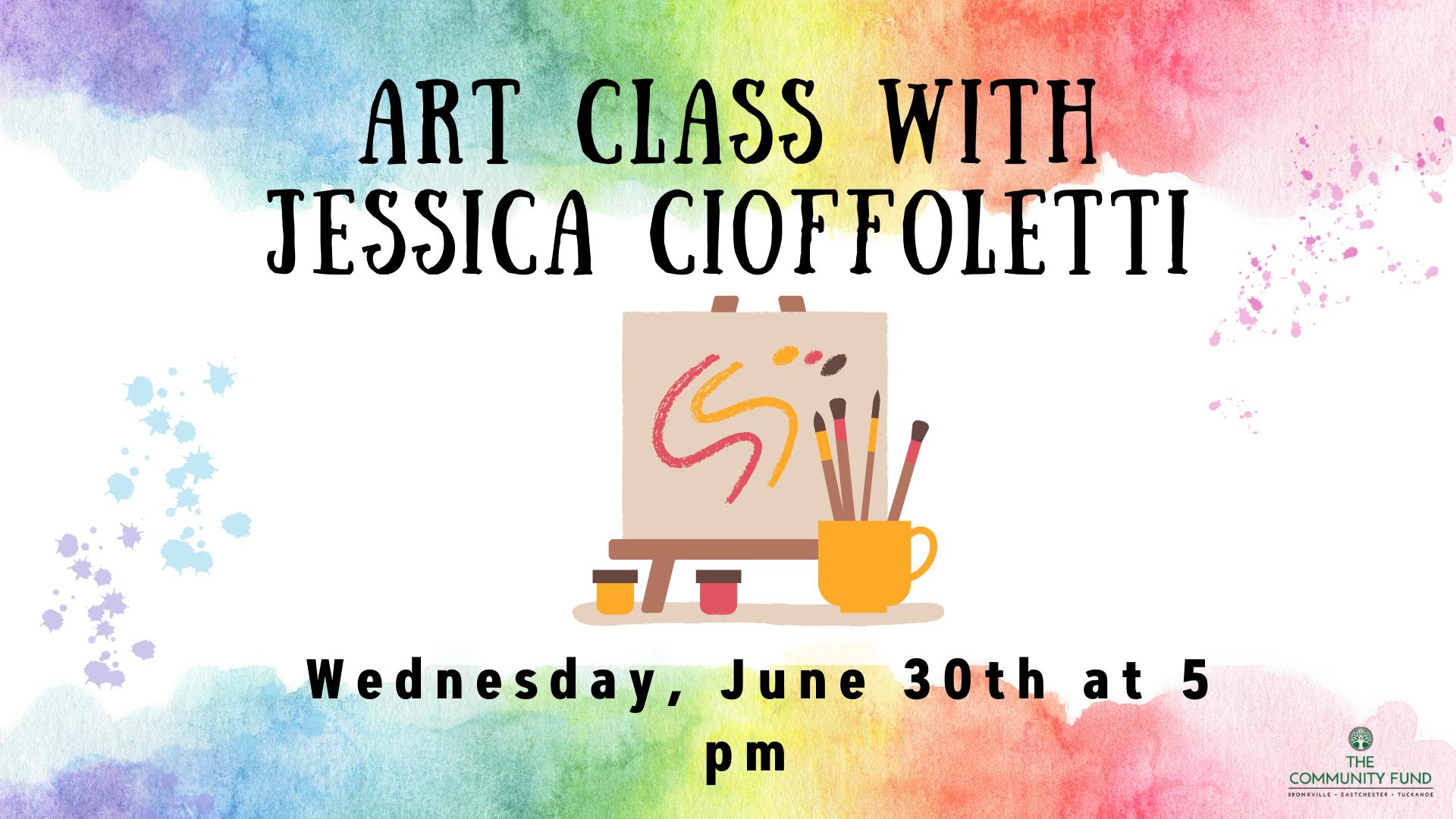 Art Class with Jessica Cioffoletti