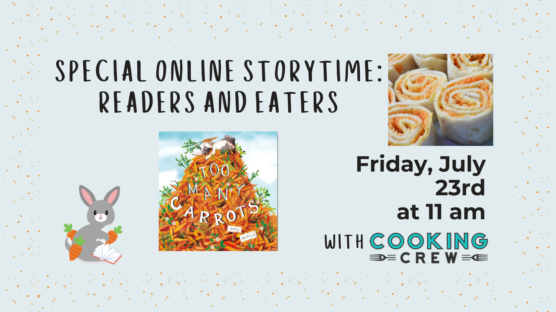Special Online Storytime - Readers and Eaters