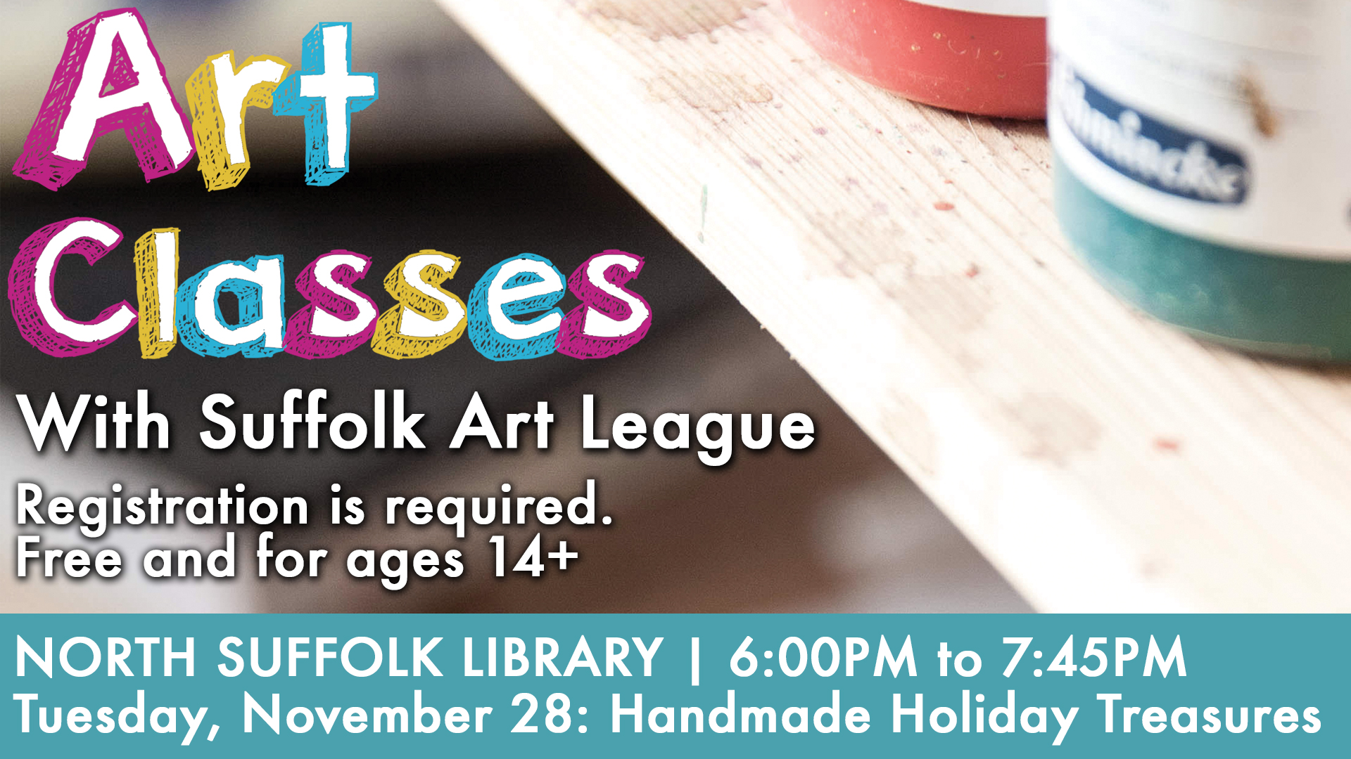 Art Classes with the Suffolk Art League