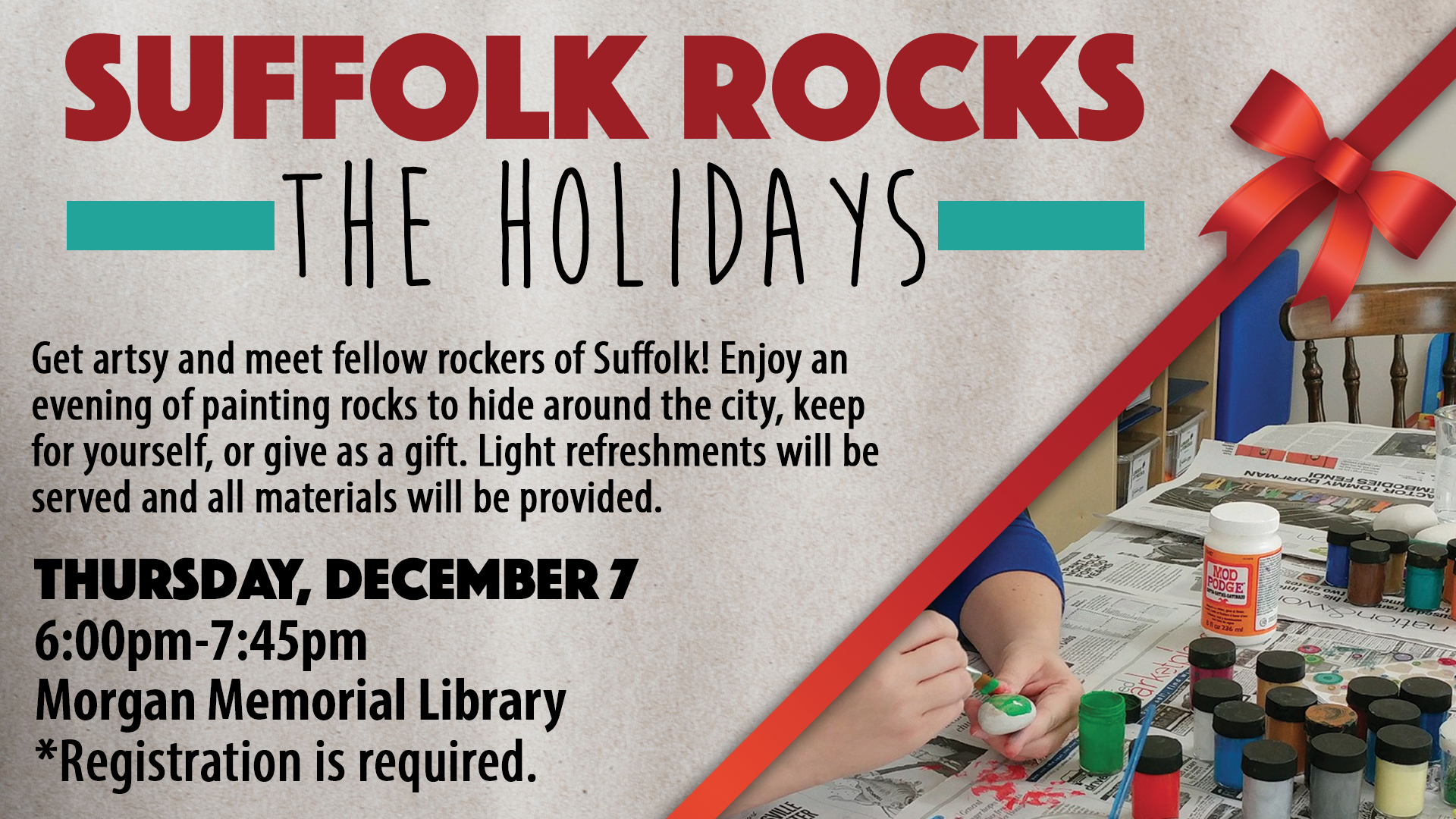 Suffolk Rocks the Holidays!