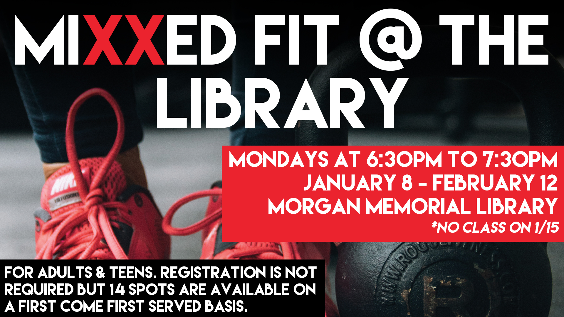 Mixxed Fit @ the Library
