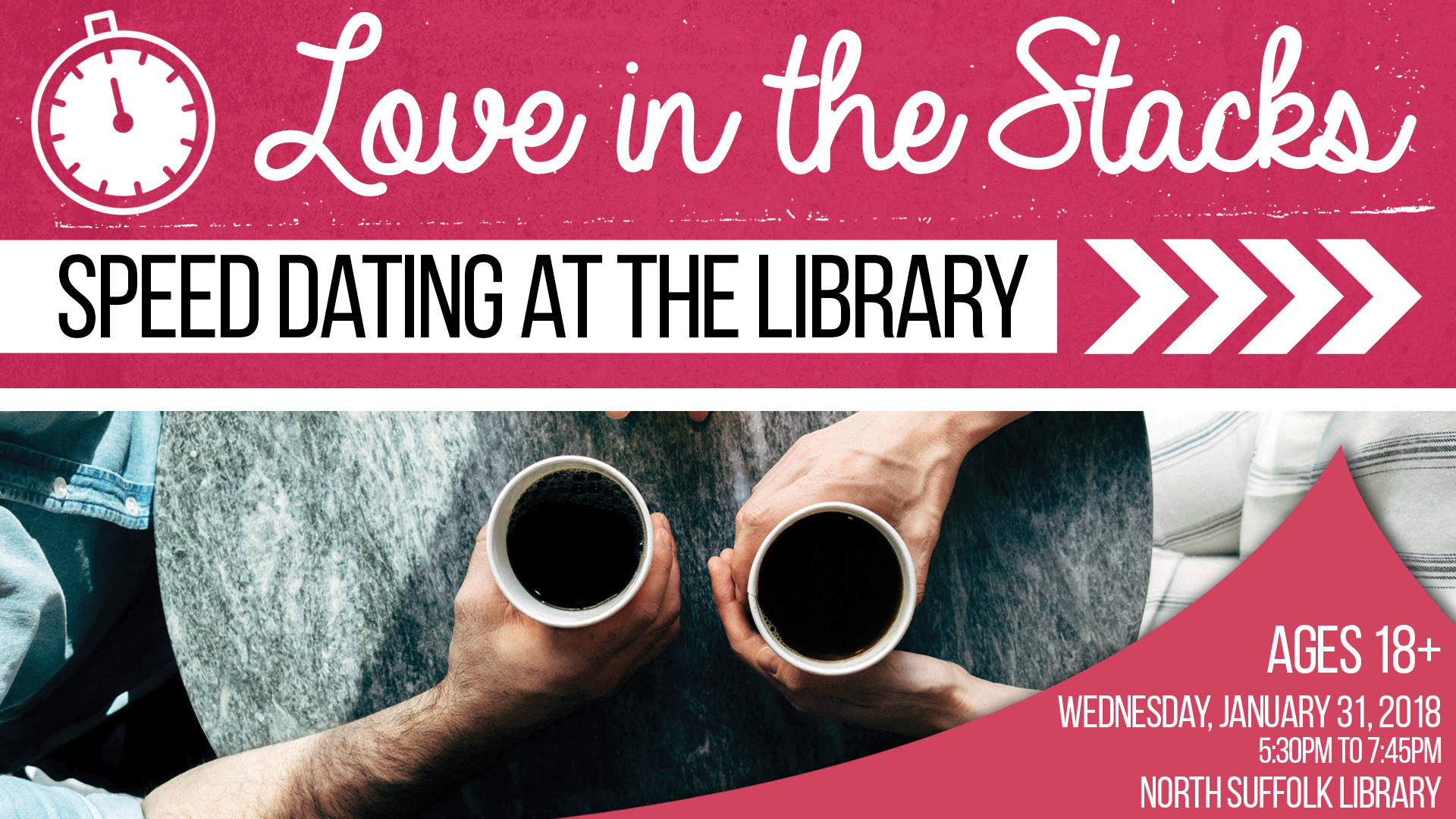 Love in the Stacks! Speed Dating at the Library