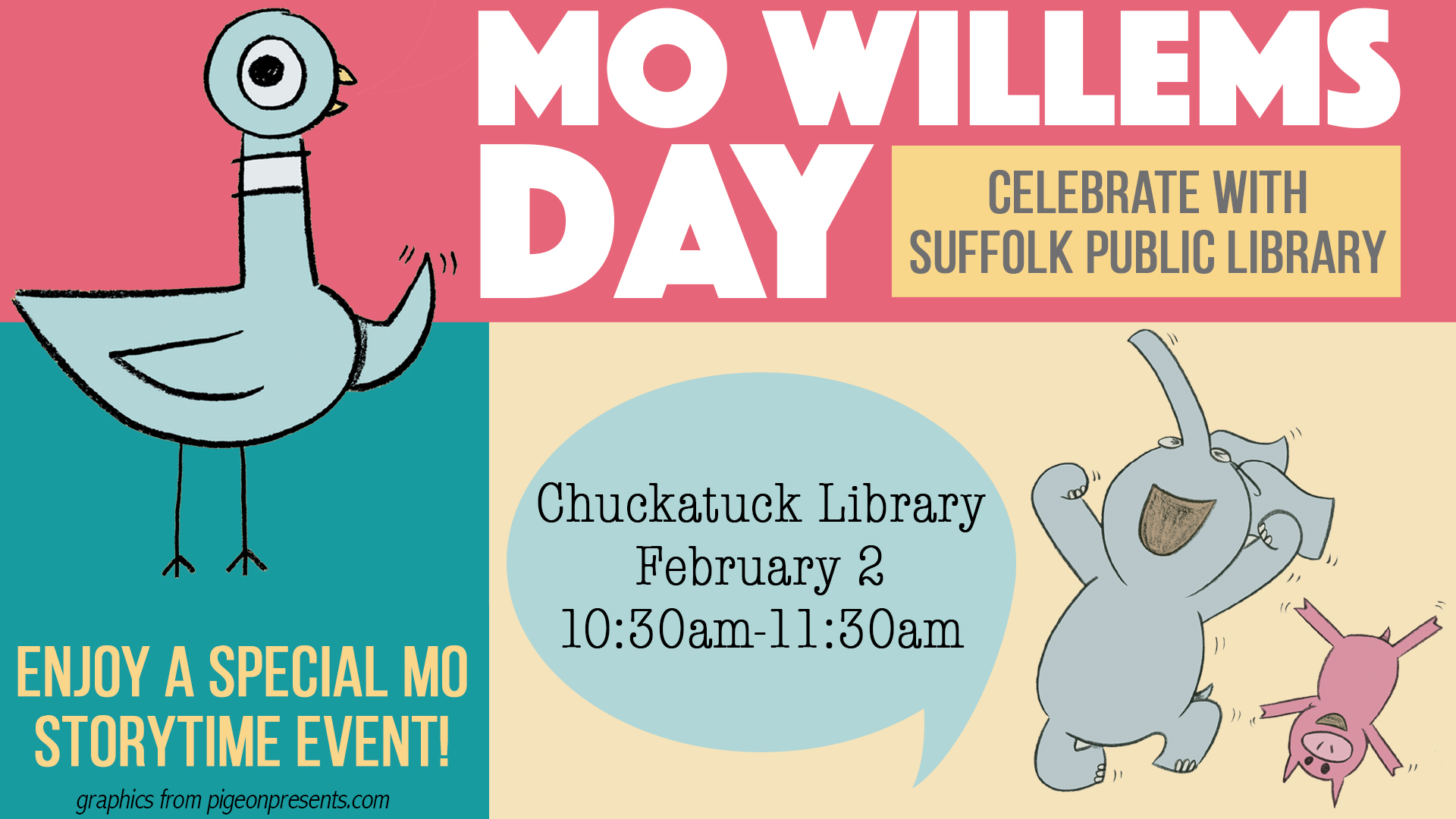 Mo Willems' Day
