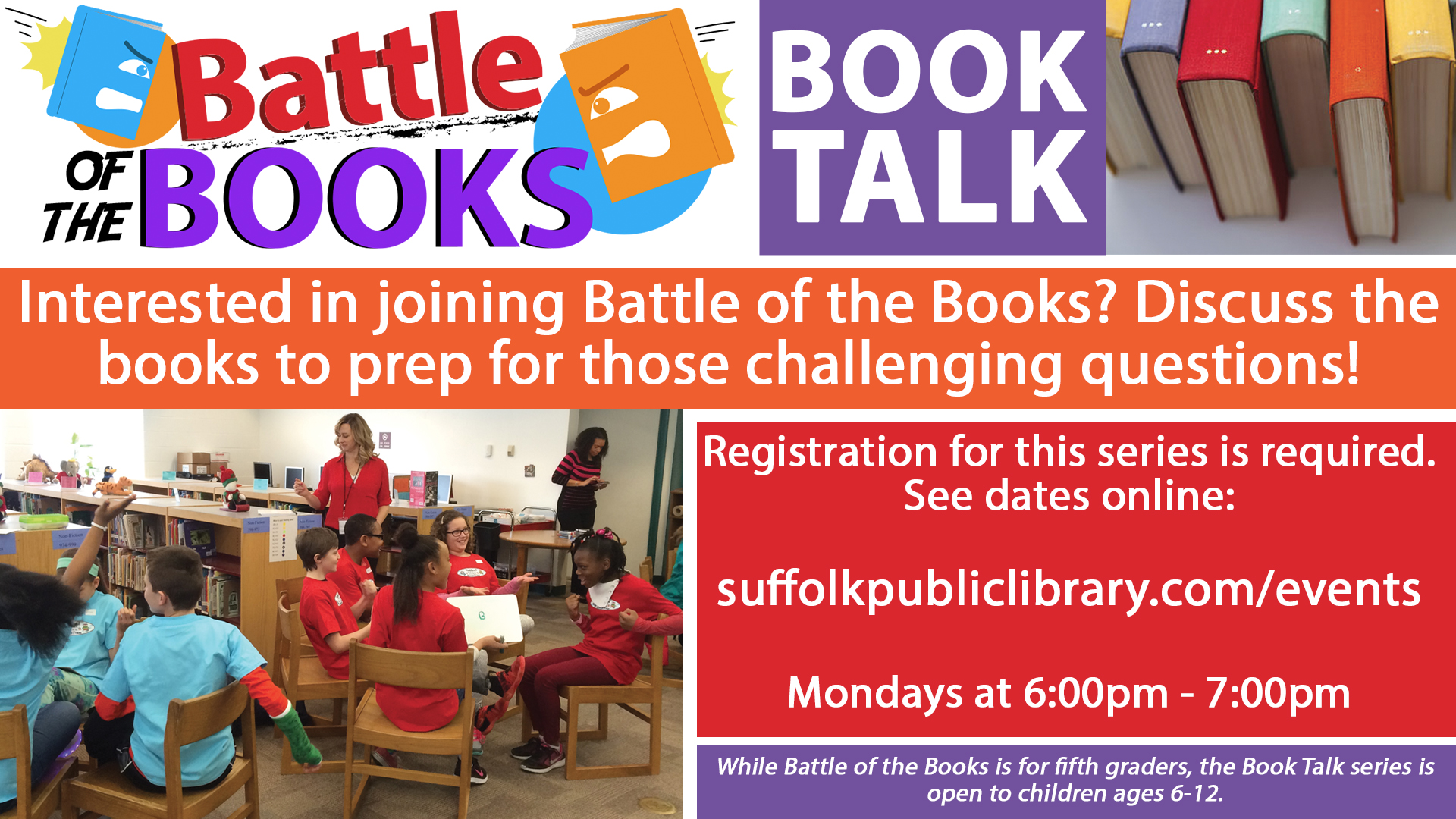 Battle of the Books Book Talk