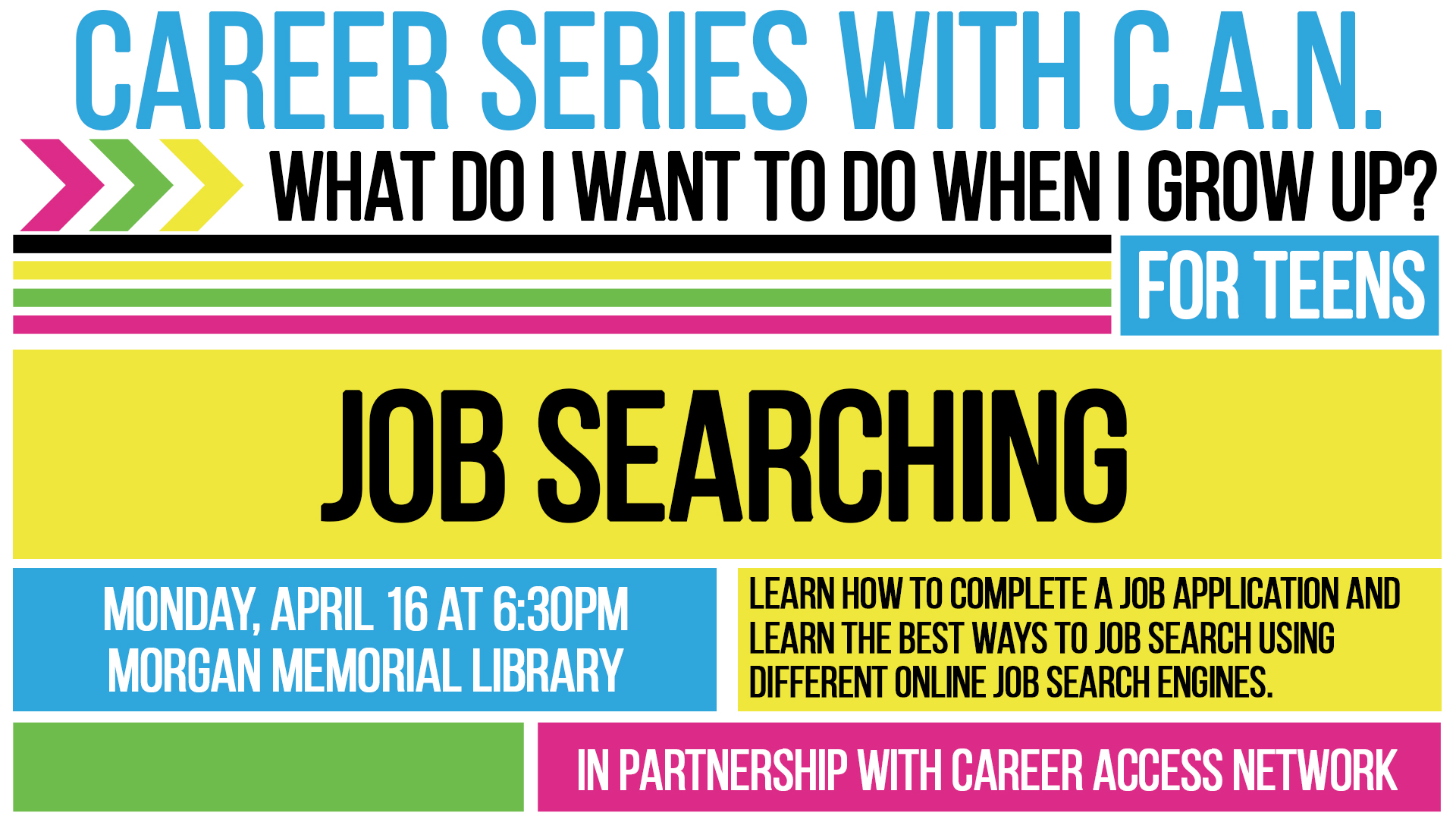 Career Series: What Do I Want To Do When I Grow Up? (For Teens)